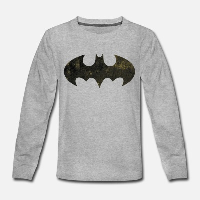Justice League Batman Logo - Kids' Premium Longsleeve Shirt